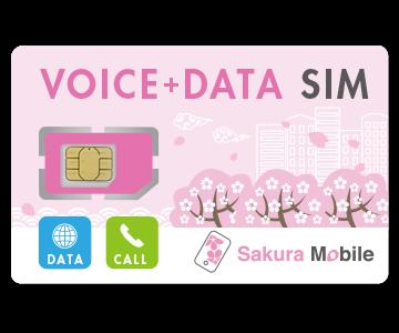 Sakura Mobile Travel SIM Card